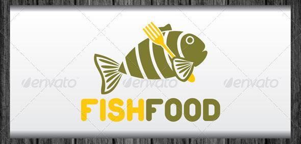 Fish Food Logo