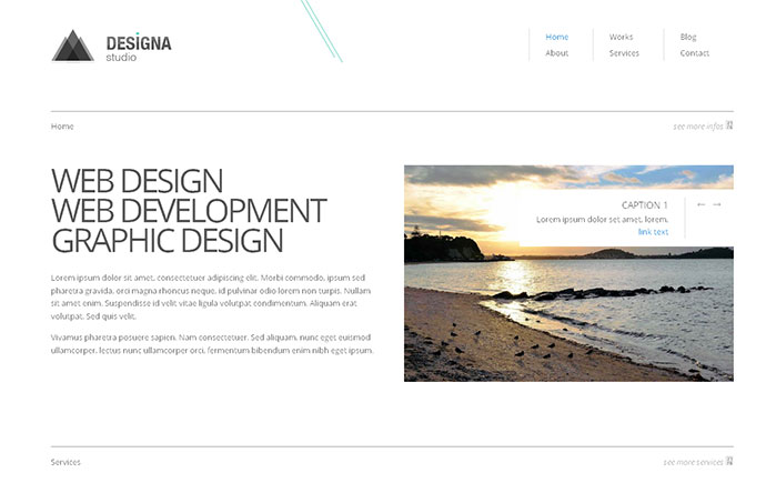 15 Free HTML5 Website & Admin Templates | Web & Graphic Design ...