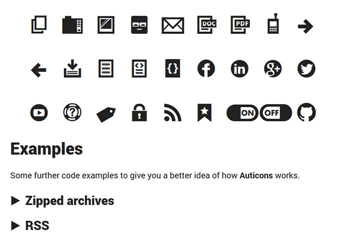 15 useful icon fonts  u2013 bashooka