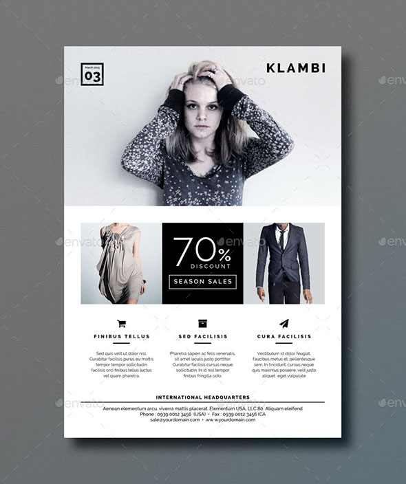 Indesign Flyer Templates For Business  Web  Graphic Design