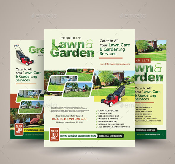 lawn-flyer-template