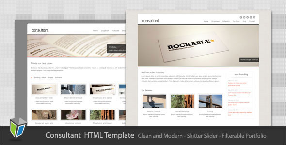 50 powerful minimalist website templates web graphic design consultant corporate business html template wajeb Gallery