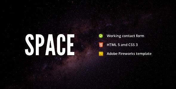 Space - Minimalist Portfolio Template
