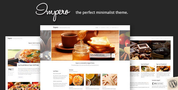 Impero: Minimalistic HTML Theme