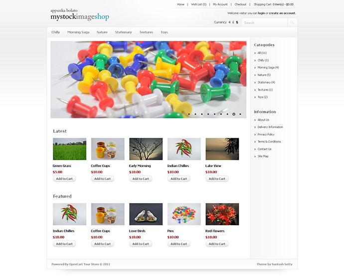 58 best opencart templates web graphic design bashooka my stock image shop opencart template maxwellsz