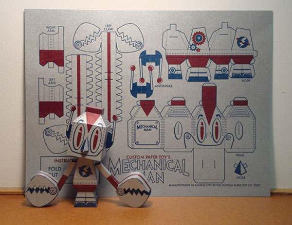 15 Really Cool Paper Toys – Bashooka