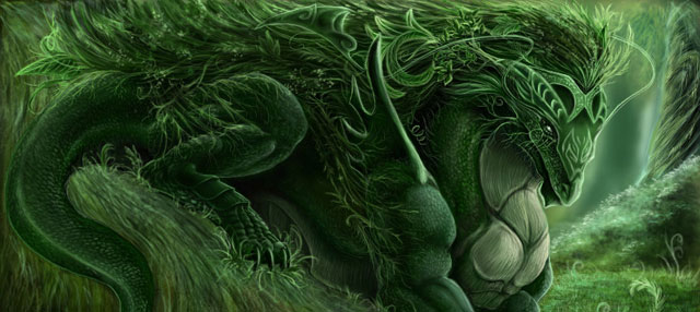 25 Super Amazing Digital Drawings Of Fantasy Creatures