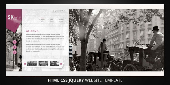 Taxi–Local Business Website Template
