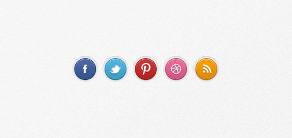 social-badges-set