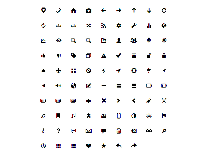 15 Useful Icon Fonts Bashooka