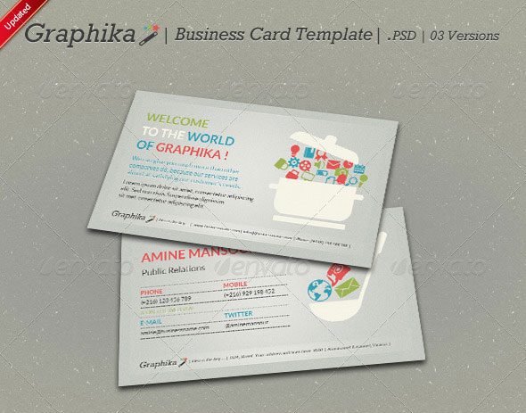 Graphika Business Card Template