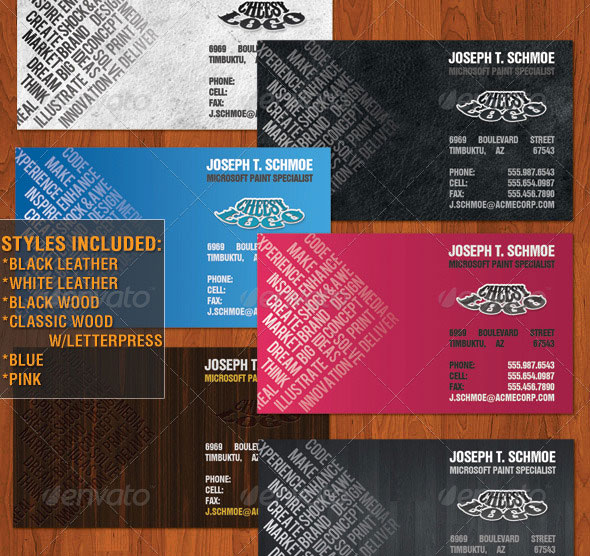 Typecard Business Card