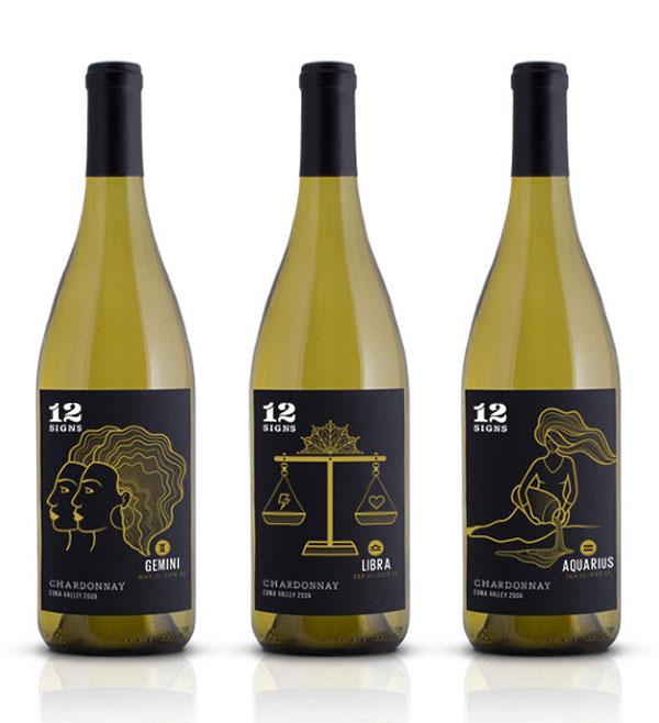 12 Signs Wine