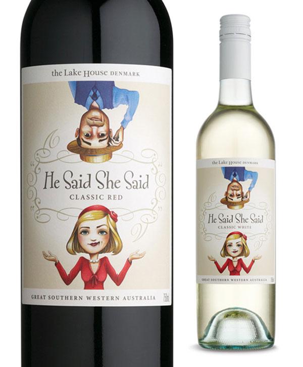 He Said She Said Wine