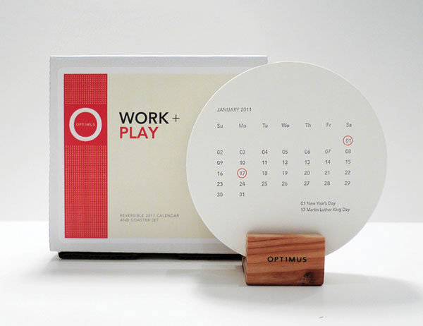 Creative Table Calendar Ideas : Cool creative calendar design ideas for web