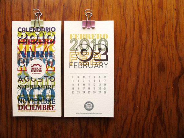 55 Cool Amp Creative Calendar Design Ideas For 2013 Web