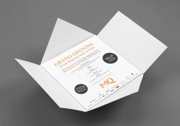 origami folded - open