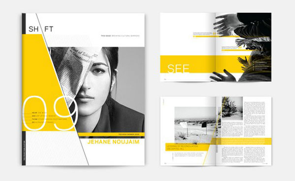 45 interesting brochure designs web graphic design bashooka