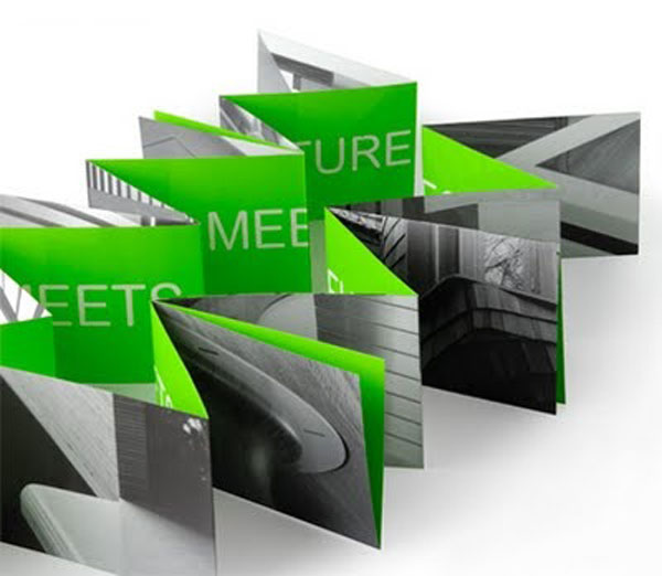 Folded Green Brochure