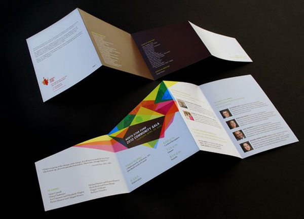 Cool brochure format & colours