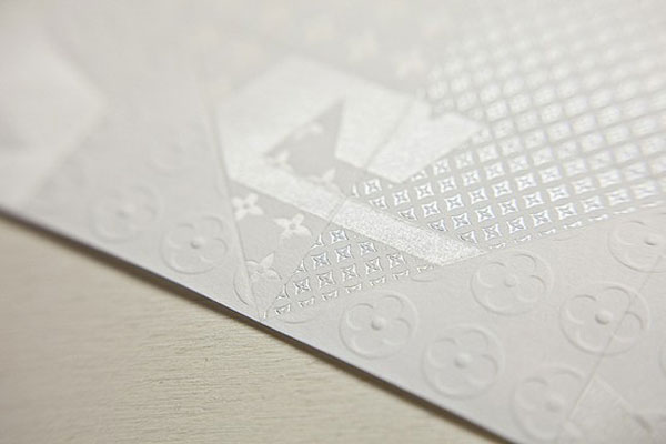 Louis Vuitton origami invitation by Happycentro