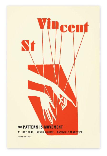 St. Vincent - Nashville. Designed by Alvin Diec