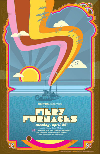 Fiery Furnaces - Designed by Jason Malmberg