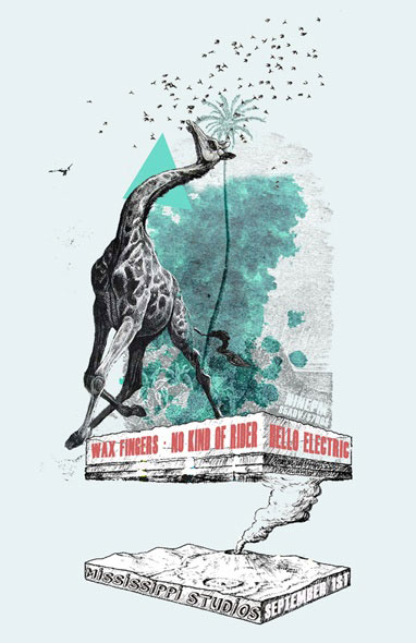 Wax Fingers/No Kind of Rider/Hello Electric