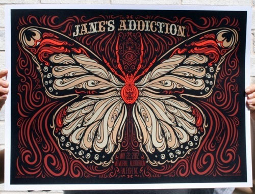Jane's Addiction by Todd Slater