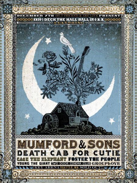 Mumford & Sons + Death Cab for Cutie et al.