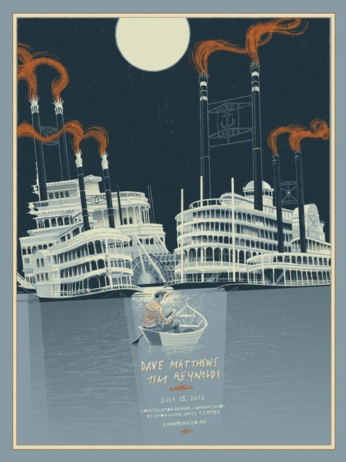 DMB poster by Rich Kelly