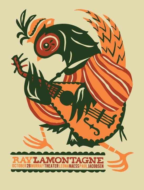 RAY LAMONTAGNE Print