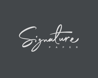 SIGNATURE PAPER