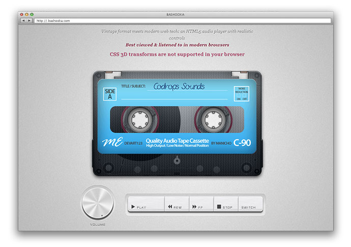 30 Great HTML5 Video & Audio Players – Bashooka