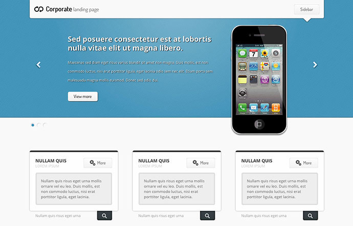 Landing Page Html/css