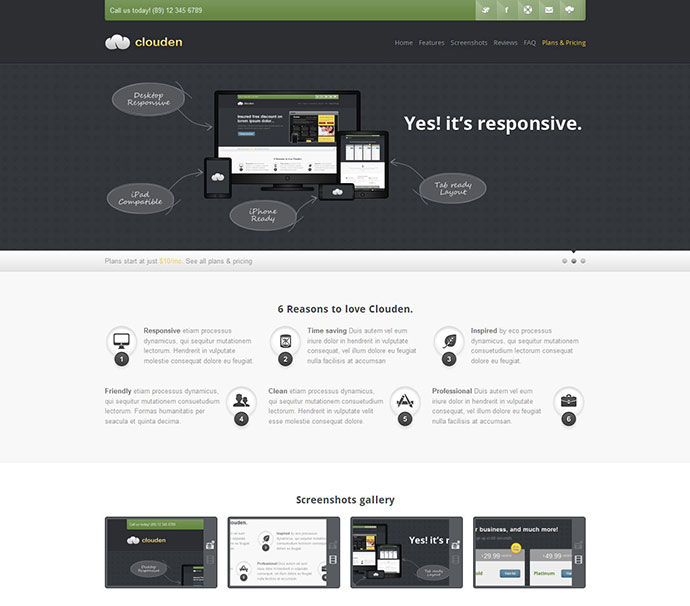 High Converting Landing Page Templates Web Graphic Design - Single page landing page template