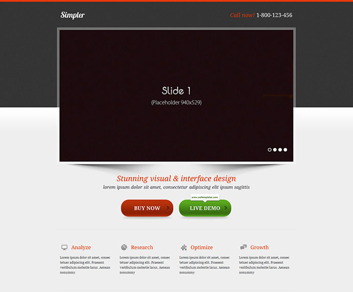 High Converting Landing Page Templates Web Graphic Design - Landing page html template