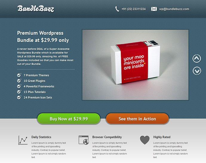 BundleBuzz - A Premium Bundle Landing Page