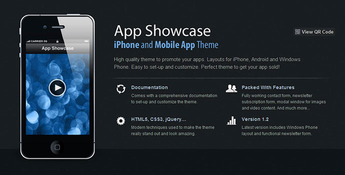 App Showcase - iPhone and Mobile App