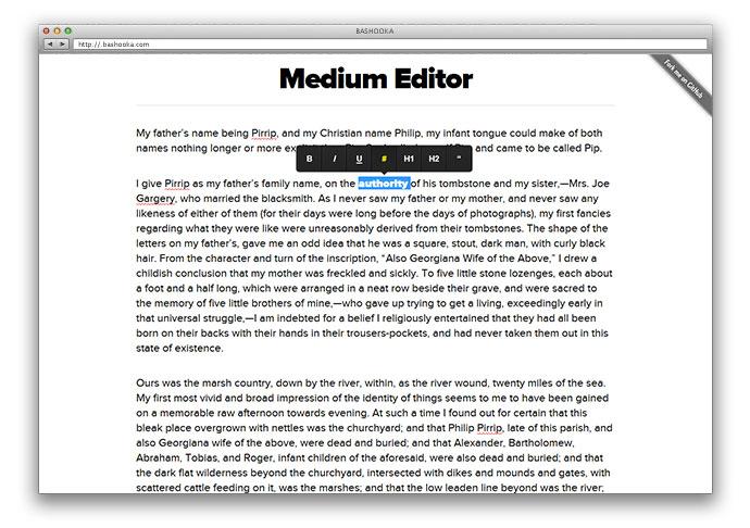 medium-editor