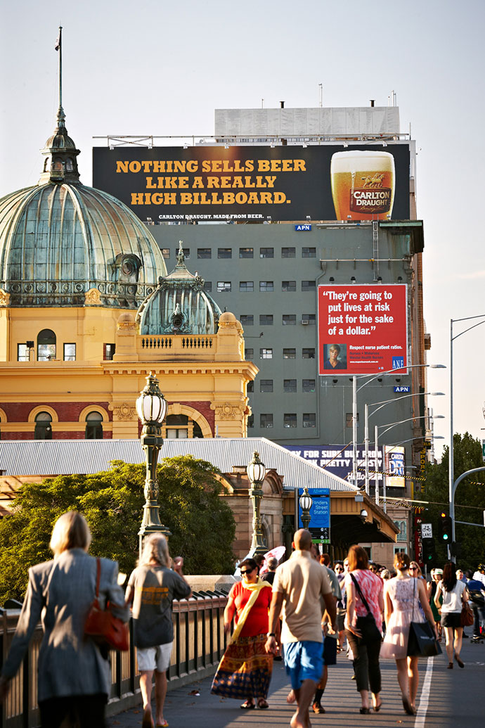 Carlton Draught: High Billboard