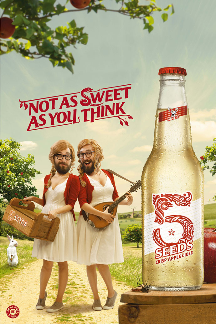 Tooheys 5 Seeds Cider: Delivery Girls