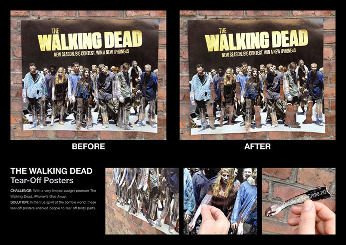 Fox Crime, The Walking Dead: Tear-Off Limbs