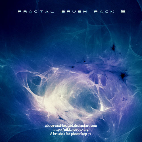 Fractal Brush Pack 02