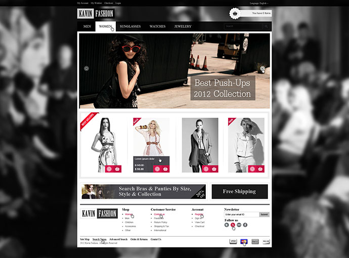 95 Beautiful Photoshop Website Templates | Web & Graphic Design ...