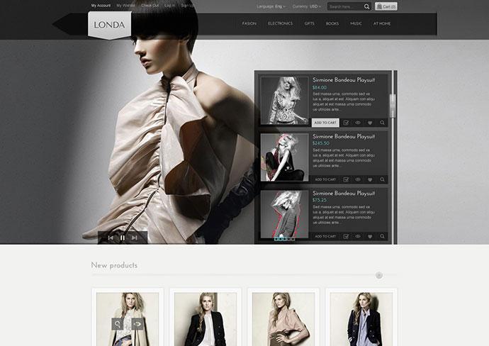 Londa - Modern Store PSD
