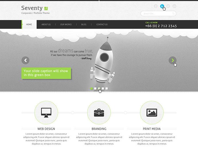 Seventy Corporate Portfilio