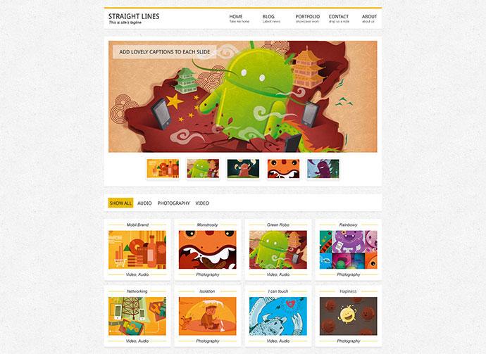 Mistix - Minimal Portfolio HTML / CSS Theme