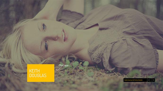 Nostalgia - Responsive Minimal Portfolio Template