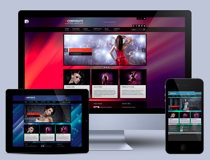 Incorporate Portfolio HTML Template